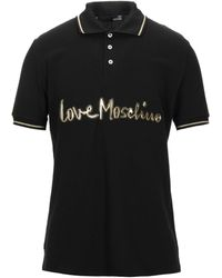 Love Moschino Polo Shirt - Black