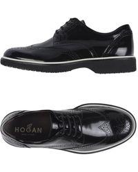 Hogan Zapatos de cordones - Negro
