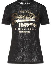 Superdry T-shirt - Noir