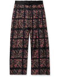 Sasquatchfabrix Casual Trouser - Black