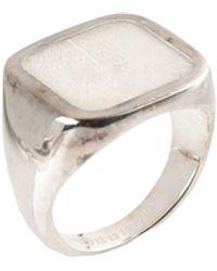 Maison Margiela Ring - Weiß