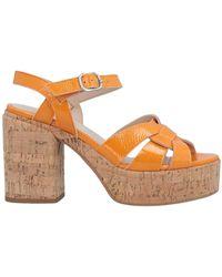 Jeannot Sandals - Orange