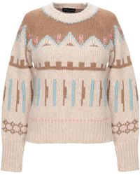 Roberto Collina Cashmere Blend Chunky Sweater - Natural