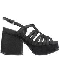Alberto Guardiani Sandals - Black