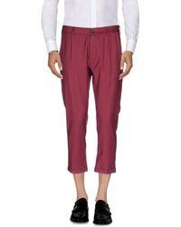 26.7 Twentysixseven - 3/4-length Shorts - Lyst