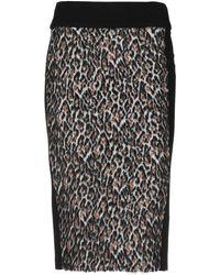 Jucca 3/4 Length Skirt - Black