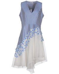 Philosophy di Alberta Ferretti Midi Dress - Blue