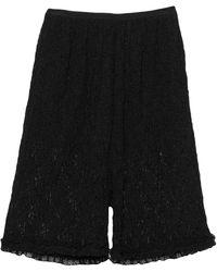 MM6 by Maison Martin Margiela Shorts & Bermuda Shorts - Black