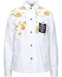 Versace Jeans Couture Denim Outerwear - White