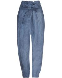 Vivienne Westwood Anglomania Casual Trouser - Blue