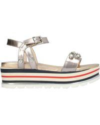 Loretta Pettinari Sandals - Grey