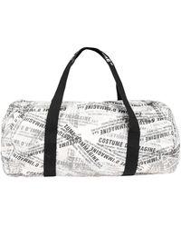 Daniele Alessandrini Homme Travel Duffel Bags - Gray