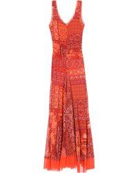 Fuzzi Vestito lungo - Rosso