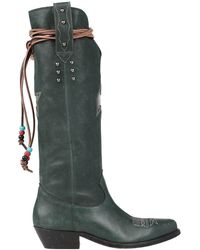 Golden Goose Deluxe Brand Boots - Green