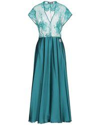 Satine Label Midi Dress - Blue
