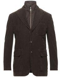 Lubiam Suit Jacket - Brown