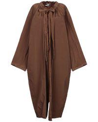 Hache Overcoat - Brown