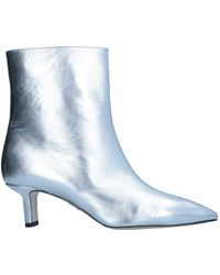 Paul Andrew Ankle Boots - Metallic