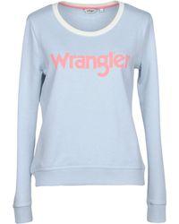 Wrangler - Retro Kabel Swt Sweatshirt - Lyst