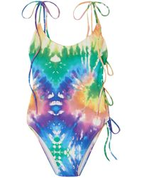 ACK One-piece Swimsuit - Pink