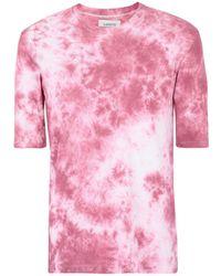 Laneus - Camiseta con estampado tie-dye - Lyst