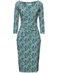 La Petite Robe Di Chiara Boni Midi Dress - Blue