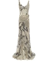 Roberto Cavalli Long Dress - Multicolour