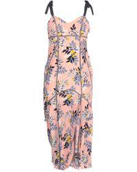 Cinq À Sept 3/4 Length Dress - Pink