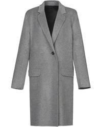 Helmut Lang Overcoat - Gray
