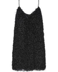 Soallure Short Dress - Black
