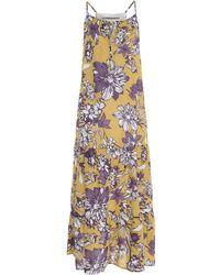 Angela Davis Long Dress - Multicolour
