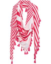 MY TWIN Twinset Scarf - Pink