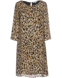 Patrizia Pepe - Short Dress - Lyst