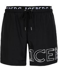Iceberg Swim Trunks - Black