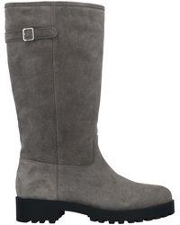 Bally Knee Boots - Gray