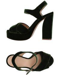Tory Burch Sandals - Green