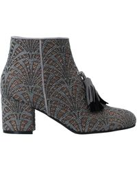 Pollini Ankle Boots - Gray