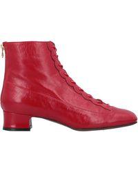 L'Autre Chose Botines de caña alta - Rojo