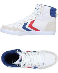 Hummel Sneakers & Tennis montantes - Blanc