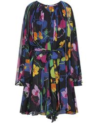 Ainea Knee-length Dress - Blue