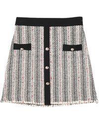 Soallure Mini Skirt - White