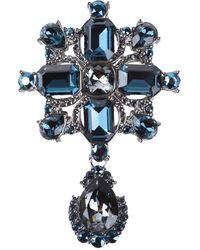 St. John Brooch - Blue