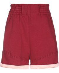 Jijil Shorts & Bermuda Shorts - Red