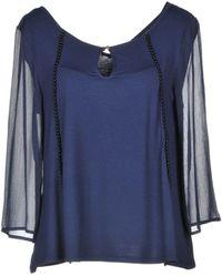 Patrizia Pepe T-shirts - Blau