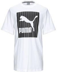 PUMA T-shirts - Weiß