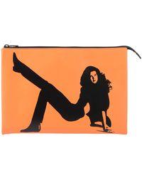 Calvin Klein Handbag - Orange