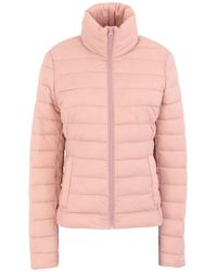 Vila Synthetic Down Jacket - Pink