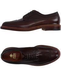 Alden Lace-up Shoes - Brown