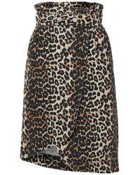 Ganni Denim Skirt - Black