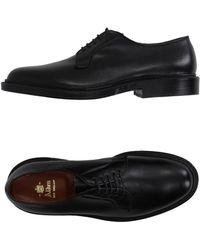 Alden Lace-up Shoes - Black